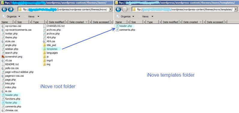 iNove Folders